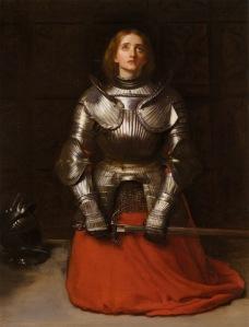 Joan of Arc by John Everett Millais -- Wiki Commons